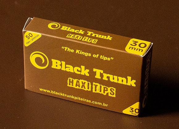 Piteira Black Trunk Papel Haxi Tips 30mm