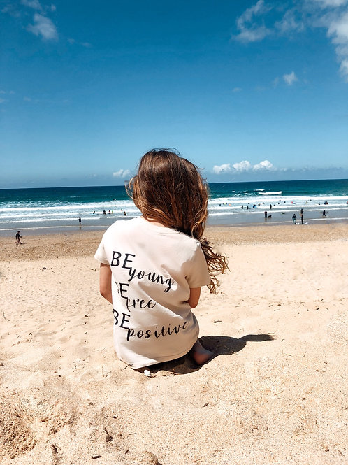 Stone Be young Be free Be positive T-Shirt