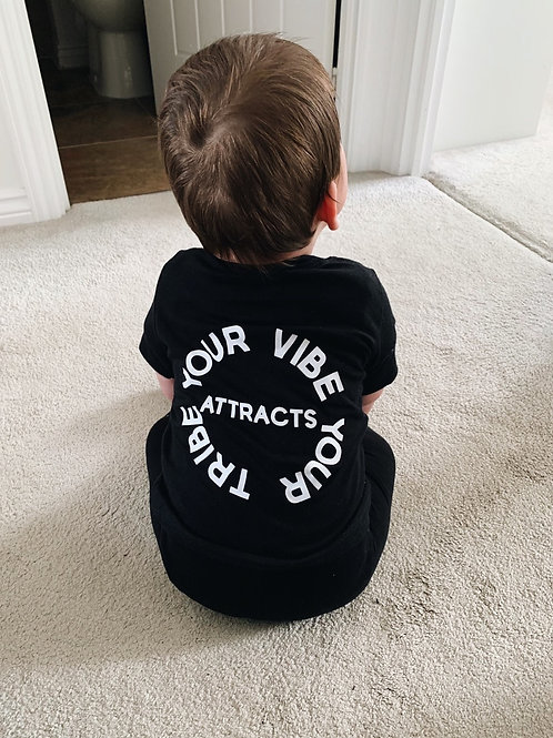 Mini Your Vibe Attracts Your Tribe T-Shirt