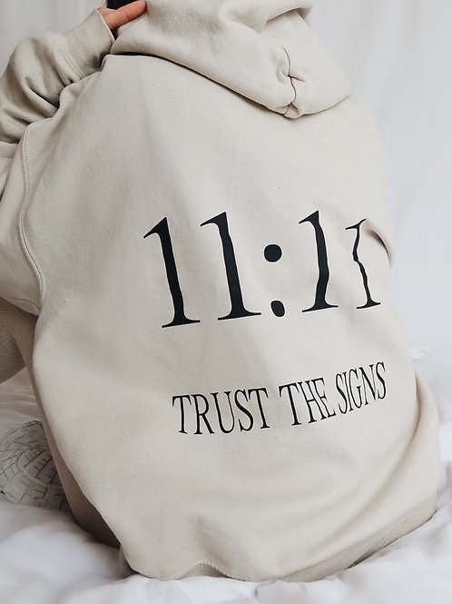 Adults 11:11 Trust The Signs Hoodie