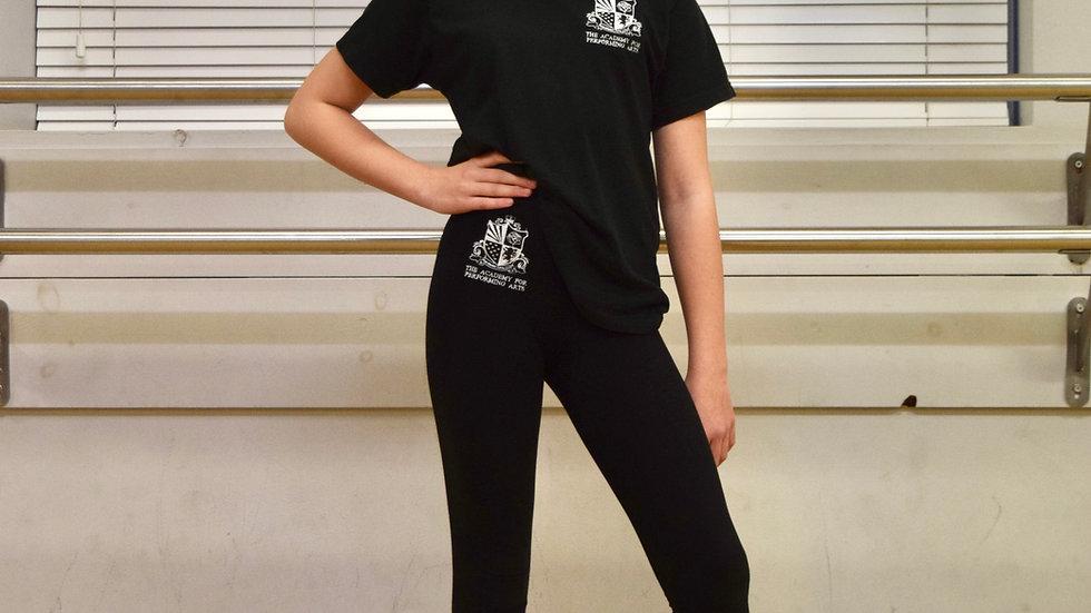 Academy black t-shirt