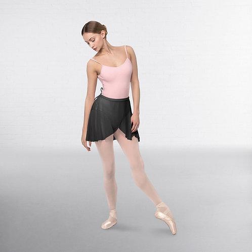 Black chiffon wrap skirt (optional at grade 3 and above)