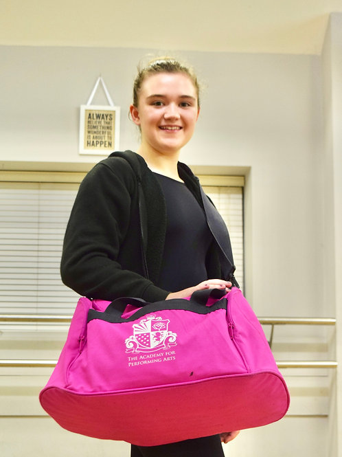 Pink Academy Holdall