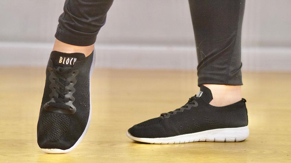 Black dance sneakers
