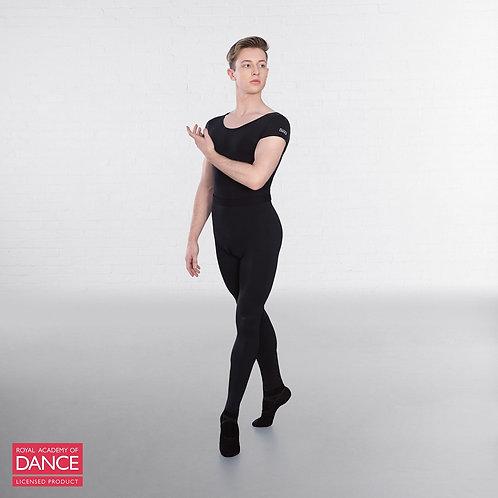 Boys' black ballet tights