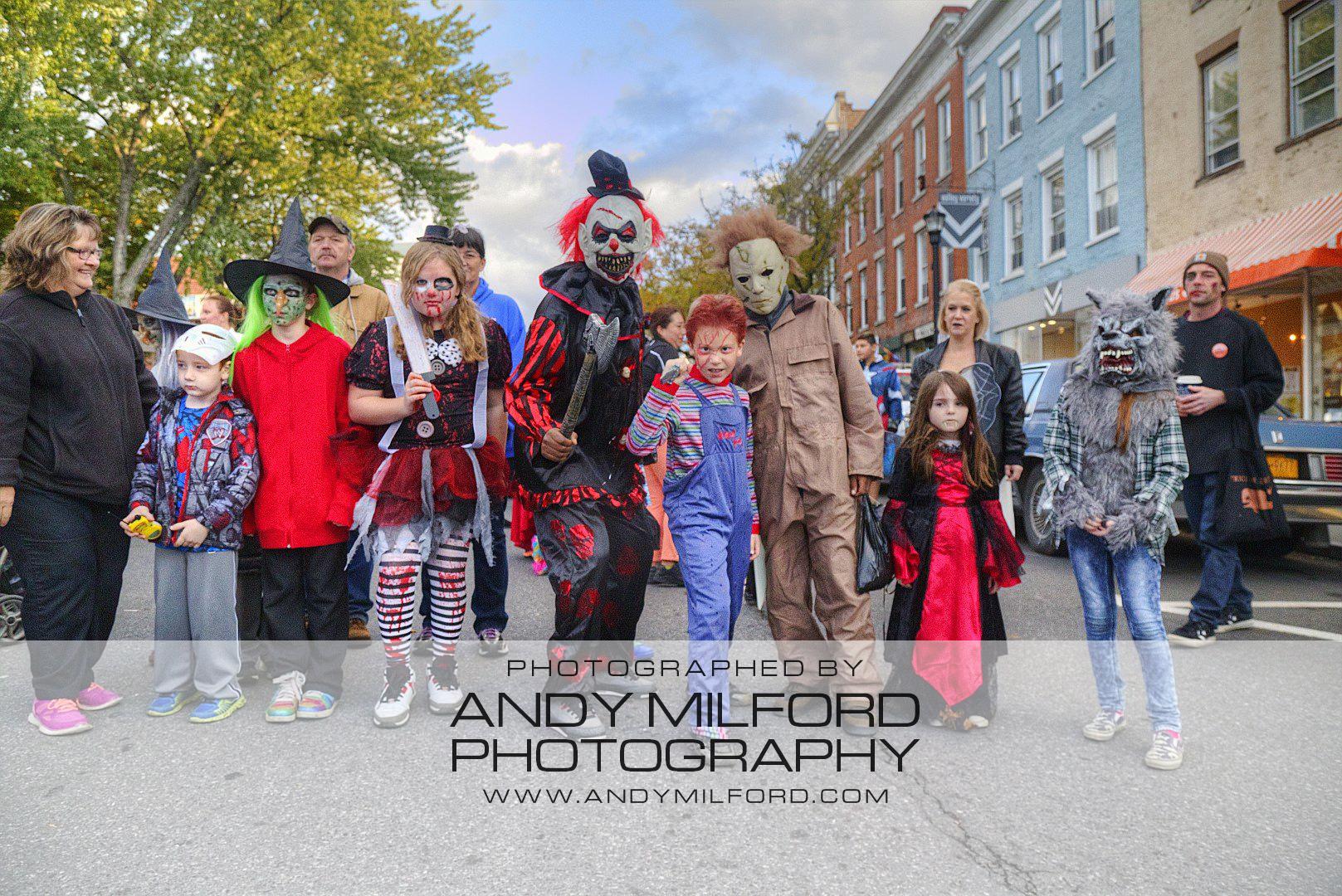 2016 Hudson Halloween Parade Lineup