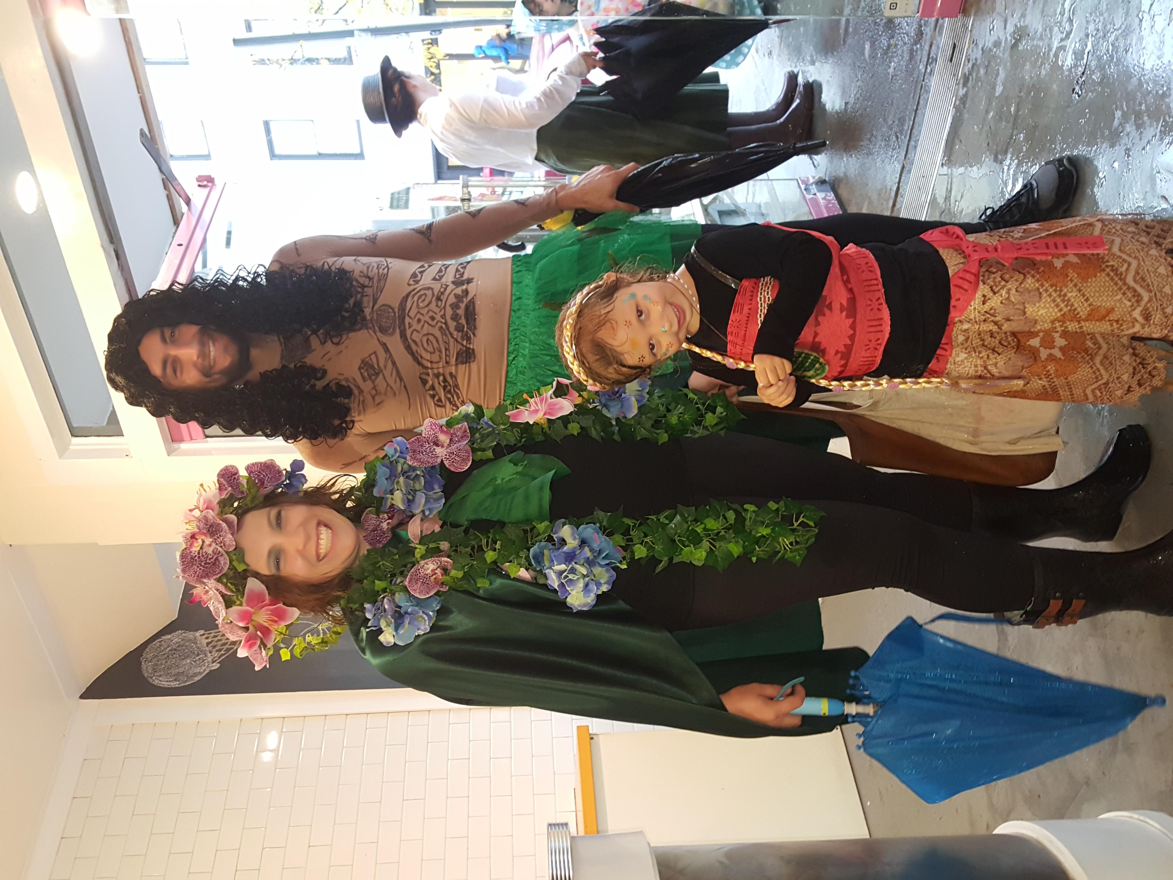 Moana, Te Fiti, and Maui