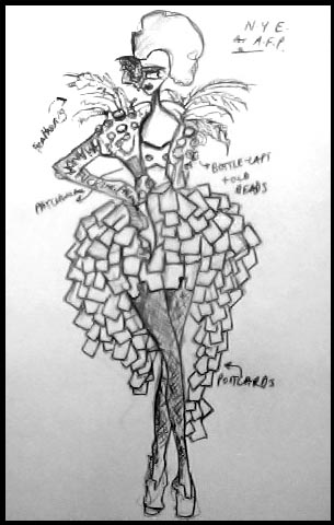 Costume Design for Amanda Palmer