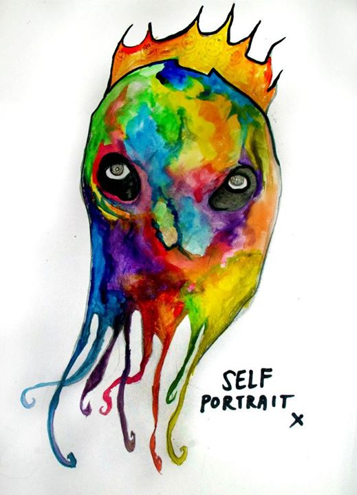 Self Portrait (Watercolor)