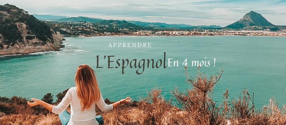 Apprendre l'Espagnol en 4 mois !