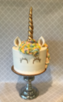 Unicorn Cake Specialty Cake Shelby Asheville North Carolina Love & Butter Baking Co.