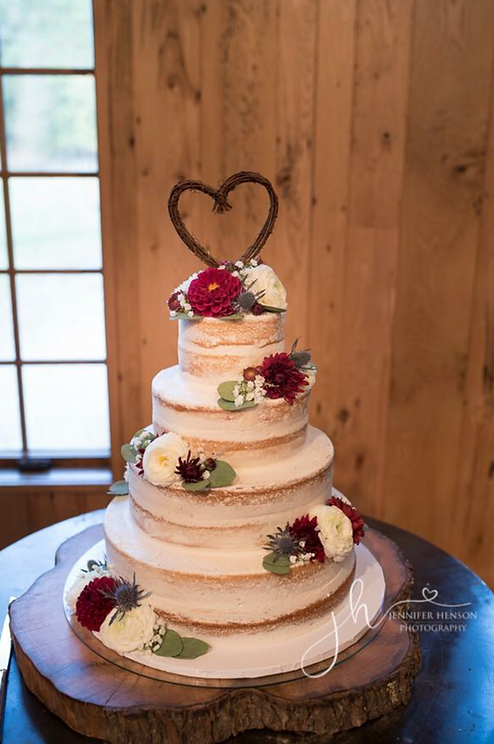 Wedding Cake Shelby Asheville North Carolina Love & Butter Baking Co.