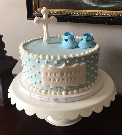 Baby Shower Specialty Cake Shelby Asheville North Carolina Love & Butter Baking Co.