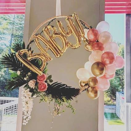 Welcoming Baby Wreath