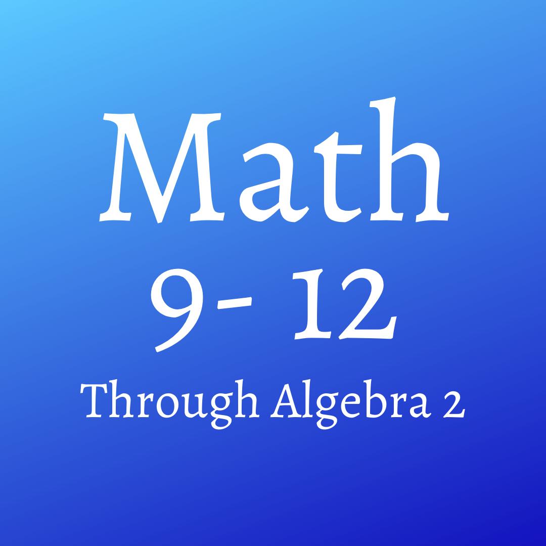 Math (9-12)