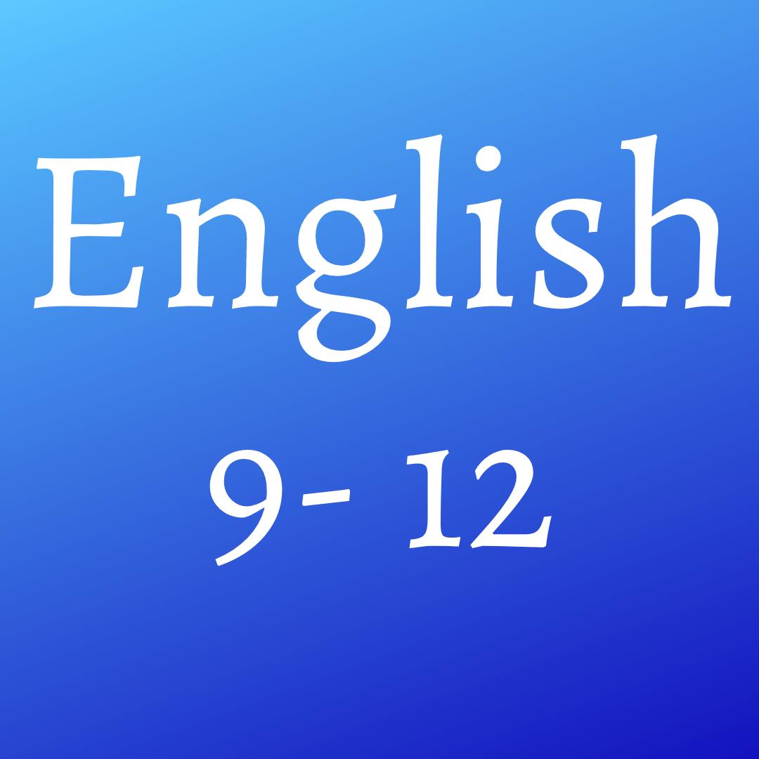 English (9- 12)