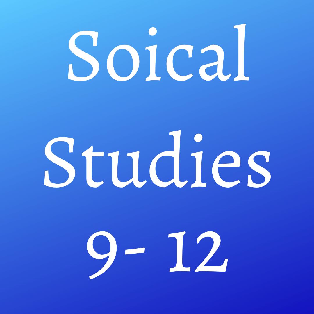 Social Studies (9-12)