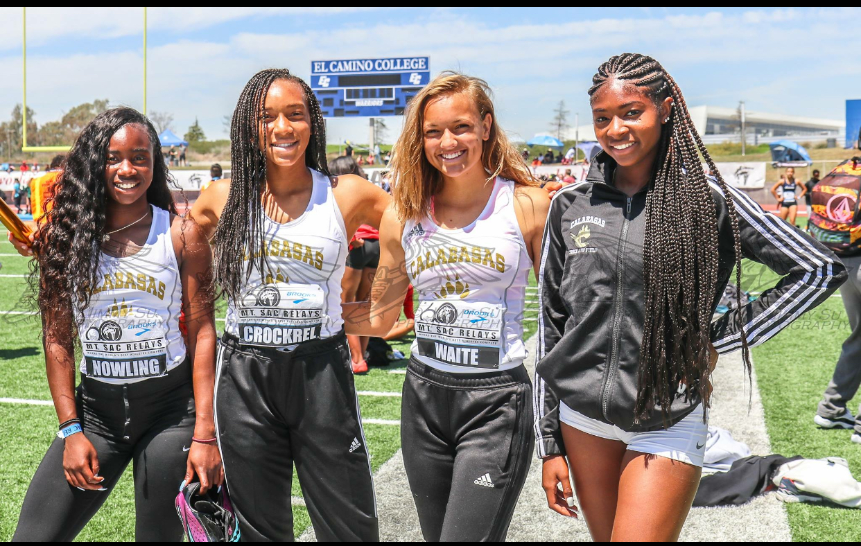 4x100Mt.Sac.relay