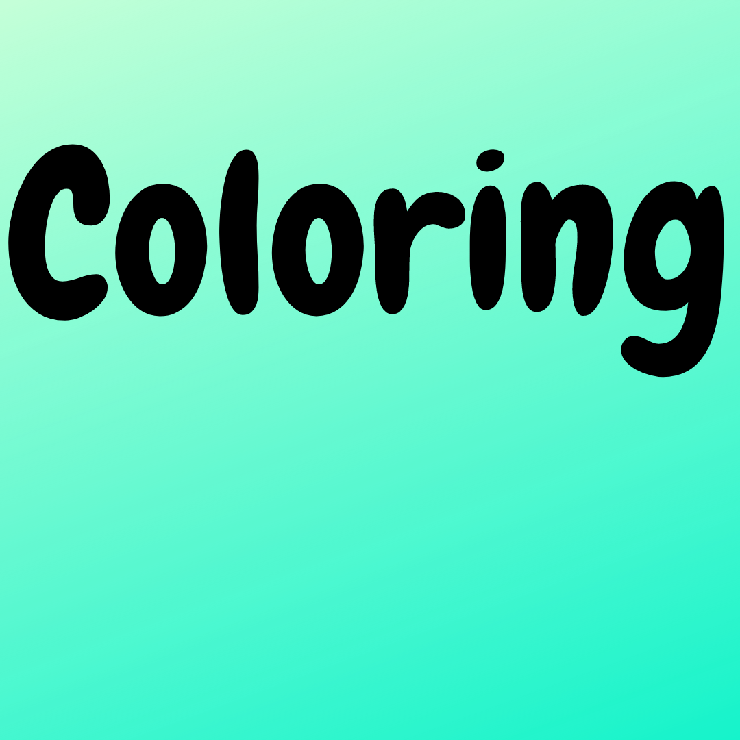 Coloring (Beg.- Int. Levels)