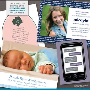 Printing | St. Pete | Invitations | Announcements | Wedding | Baby