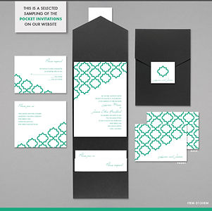Printing | St. Pete | Invitations | Announcements | Wedding | Bridal Shower | Reception | Pocket Invites
