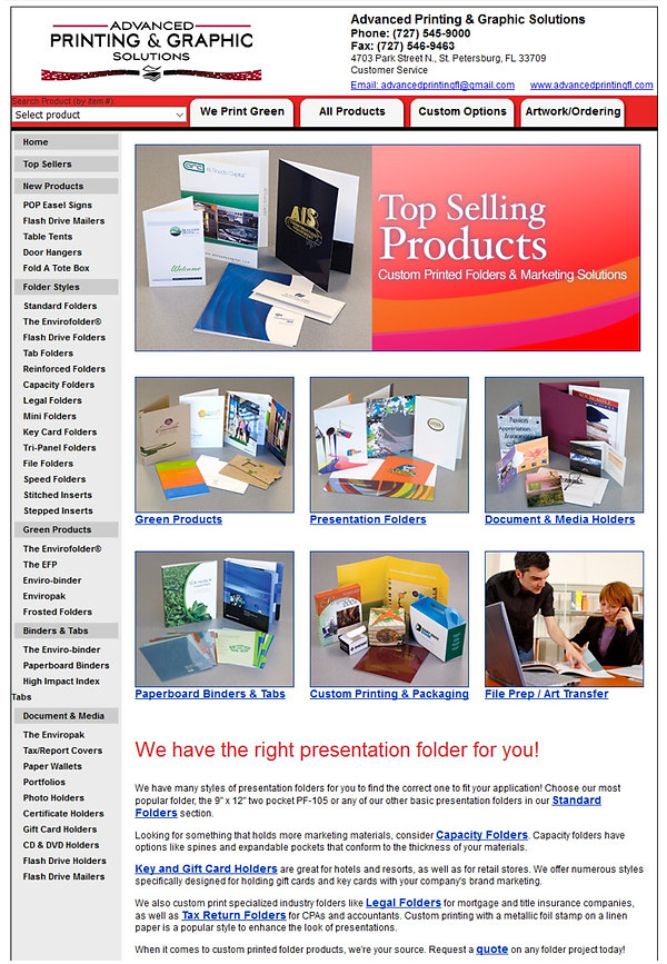 Custom Printed Folders & Marketing Solutions