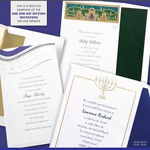 Printing | St. Pete | Bar Mitzvah | Bat Mitzvah | Invitations | Announcements