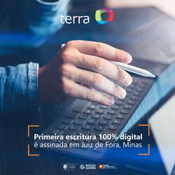 Escritura 100% Digital em Juiz de Fora