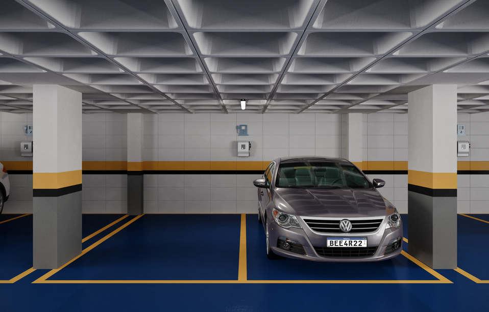 Garagens com carregador para carro elétrico