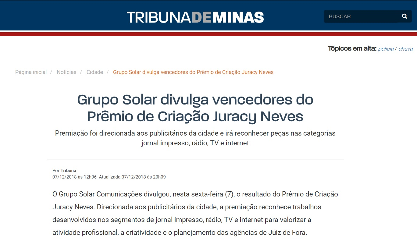 Prêmio Juracy Neves