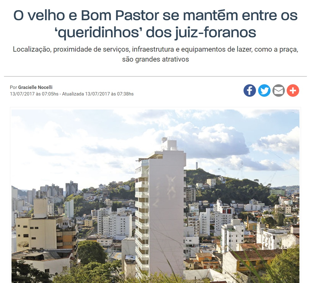 Bairro Bom Pastor em alta