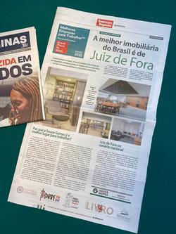 Ranking Great Place to Work da Souza Gomes é destaque no jornal Tribuna de Minas
