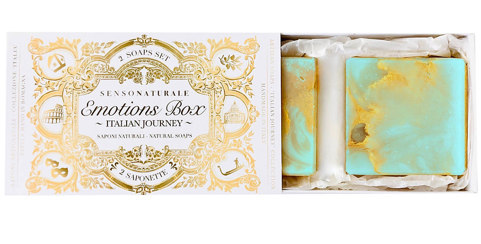EMOTION BOX - 2 SOAPS - Sardegna nel cuore (Mirto e Ginepro)
