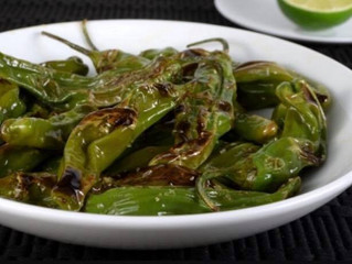 Perfectly Blistered Shishito Peppers🌶(the easy way!) with a Super Yummy Tangy Sauce!