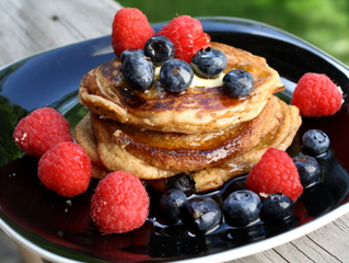Perfect Pancakes! Gluten Free & High Protein!