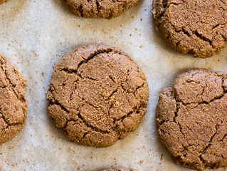 Mineral Rich Gingerbread Cookies!