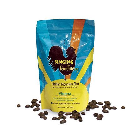 Singing Rooster Vienna Shade Grown Coffee, Ground