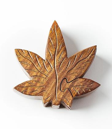 Leaf Puzzle Box