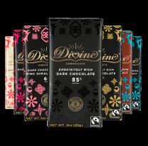 Divine Chocolate Bars - 3 oz