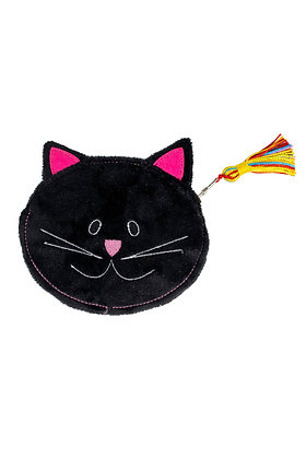 SERRV Black Cat Coin Purse