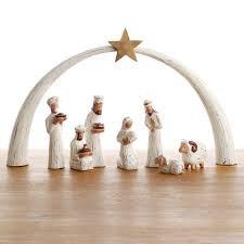 SERRV Whitewashed Albizia Nativity