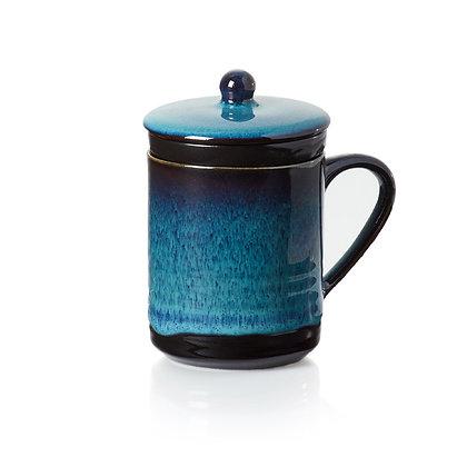 Lak Lake Ceramic Tea Infuser Mug