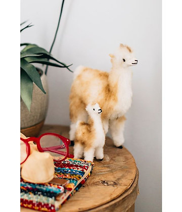 Wool Vicuna Adult & Baby