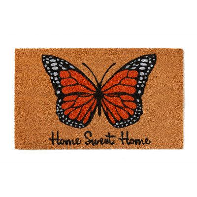 SERRV Butterfly Welcome Mat