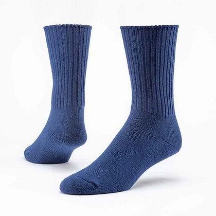 Organic Cotton Crew Socks Classic - Large