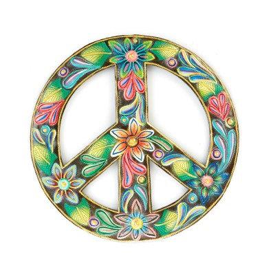 Floral Peace Art