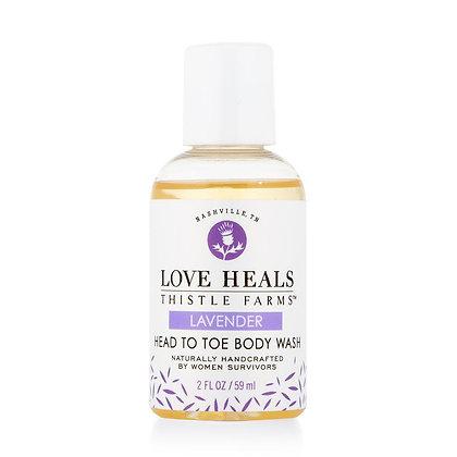 Body Wash Lavender 2 oz & 8 oz