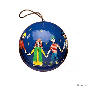 Serrv Children of The World Ornament