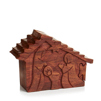 SERRV Nativity Puzzle Box