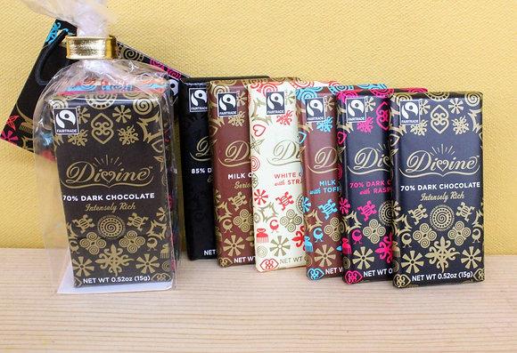 Divine 6-pack mini chocolates